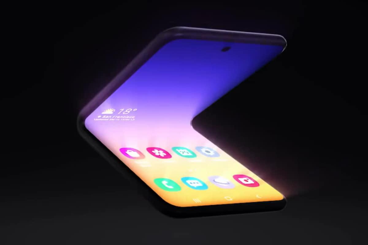 Samsung Teases Foldable Flip Phone Design