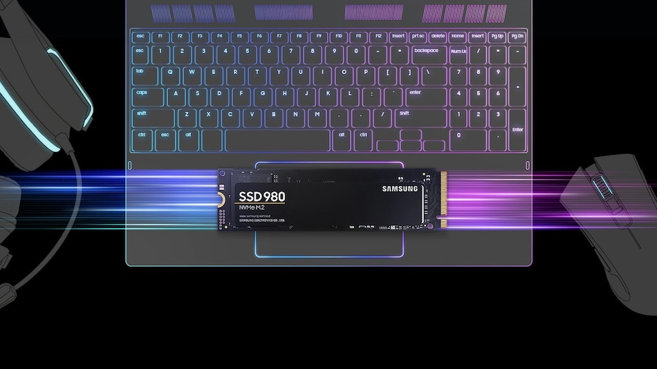 Samsung 980 NVMe M.2 SSD Launched as Company's First DRAM-Less Offering, Price in India Starts at Rs. 6,499