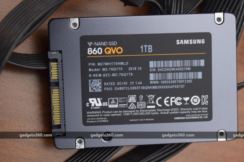 Samsung SSD 860 QVO Review