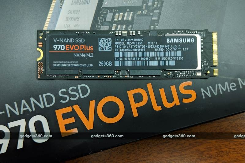 Samsung SSD 970 Evo Plus Review | NDTV Gadgets360 com