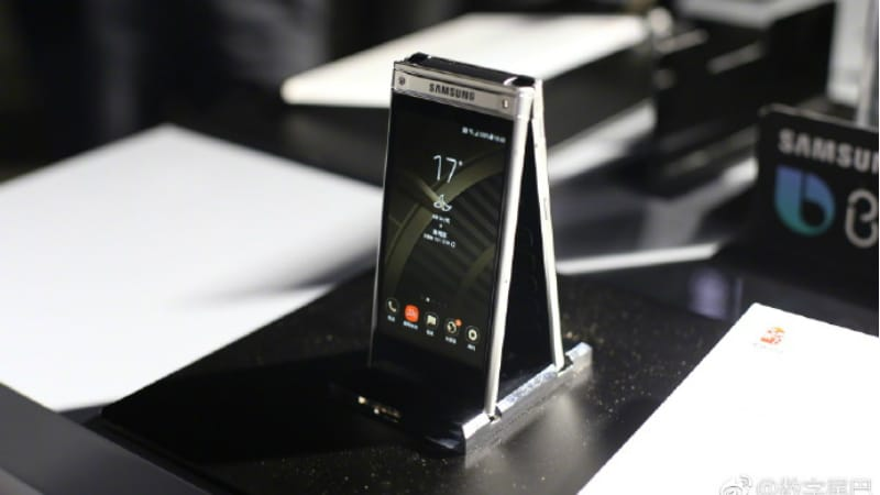 Samsung W2018 Android Flip Phone With Bixby Integration And F 1 5