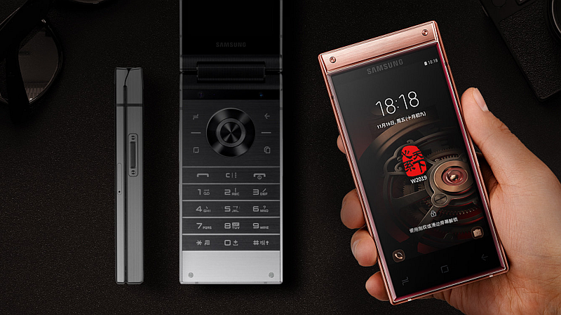 Samsung W2019 Android Flip Phone With Dual Super AMOLED Displays, Side-Mounted Fingerprint Sensor Launched: Specifications, Features