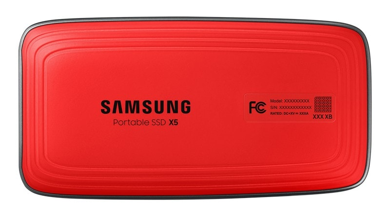 Samsung Portable SSD X5 Launched in India, Starting Rs. 27,999