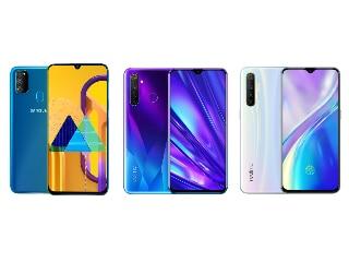 Samsung Galaxy M30s, Realme XT और Realme 5 Pro में कौन बेहतर?