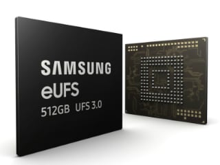 Samsung 512GB eUFS 3.0 Storage Chips Announced for Next-Gen Flagship Smartphones
