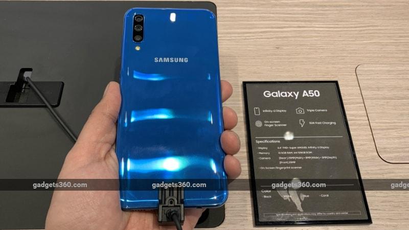 Samsung Galaxy A30, Galaxy A50 RAM + Storage Variants Leaked Ahead of Launch Tomorrow