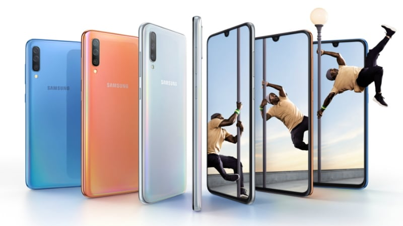 Samsung Galaxy A70 With In-Display Fingerprint Sensor, 4,500mAh Battery Launched: Price, Specifications