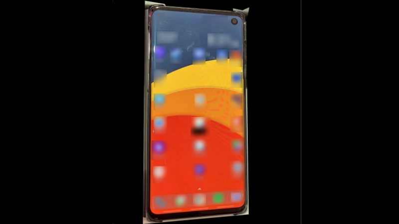 Samsung Galaxy S10 Photo Leak Tips Display Design Details, 2 5G Models Expected