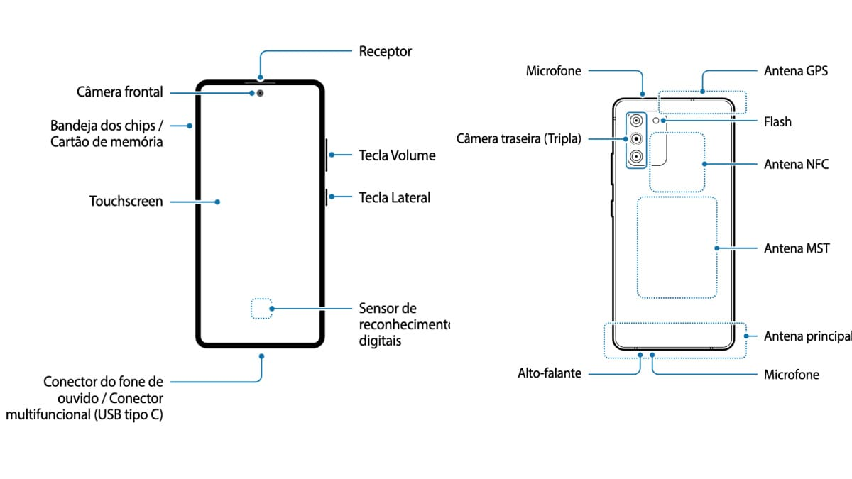 Samsung Galaxy S10 Lite Purported Manual Tips Hole-Punch