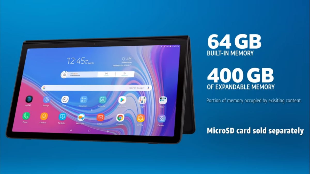 Samsung Galaxy View 2 With 17.3-Inch Display, 12,000mAh Battery Launched: Price, Specifications