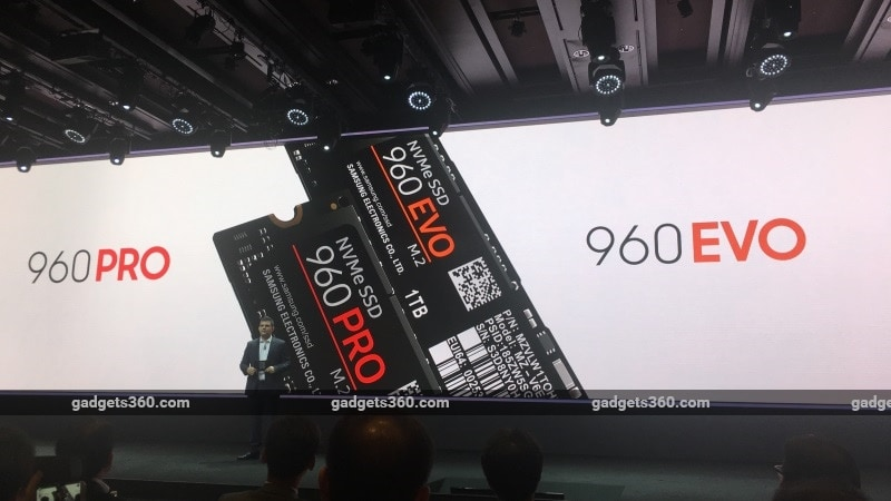Samsung 960 Evo and 960 Pro SSDs Announced