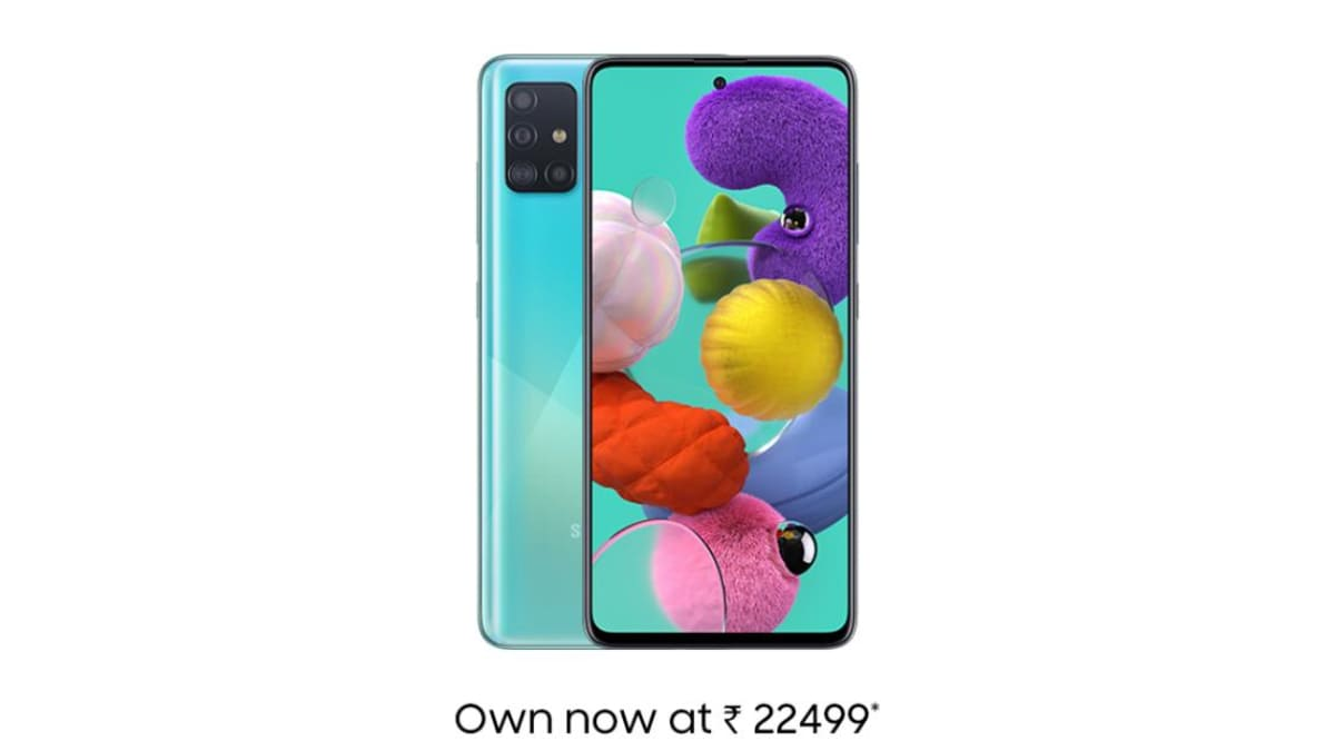 Samsung Galaxy A51 Price in India Slashed by Up to Rs. 2,000, Additional Cashback Offer Introduced
