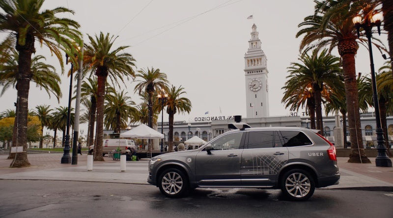 Uber Defies California, Keeps Self-Driving Cars Rolling