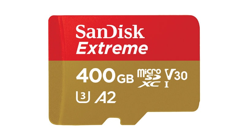 Western Digital Unveils 400GB SanDisk Extreme UHS-I MicroSDXC Card, Showcases PCIe SD Card