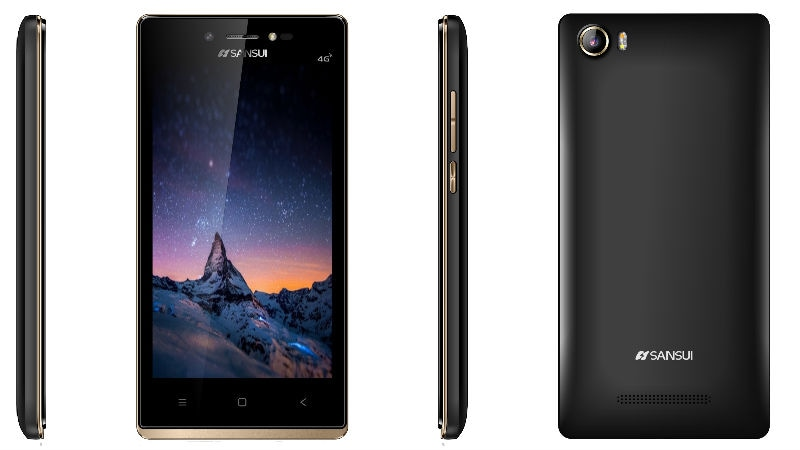 Sansui Horizon 1 With 4G VoLTE Support Launched at Rs. 3,999