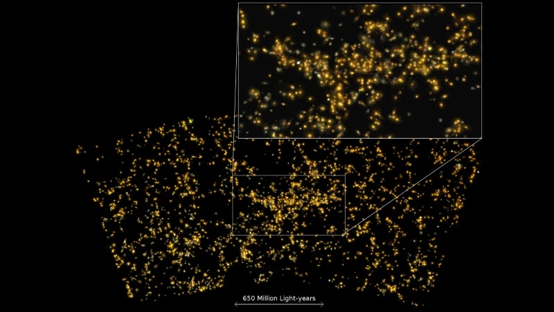 Indian Astronomers Discover Supercluster of Galaxies, Name It 'Saraswati'