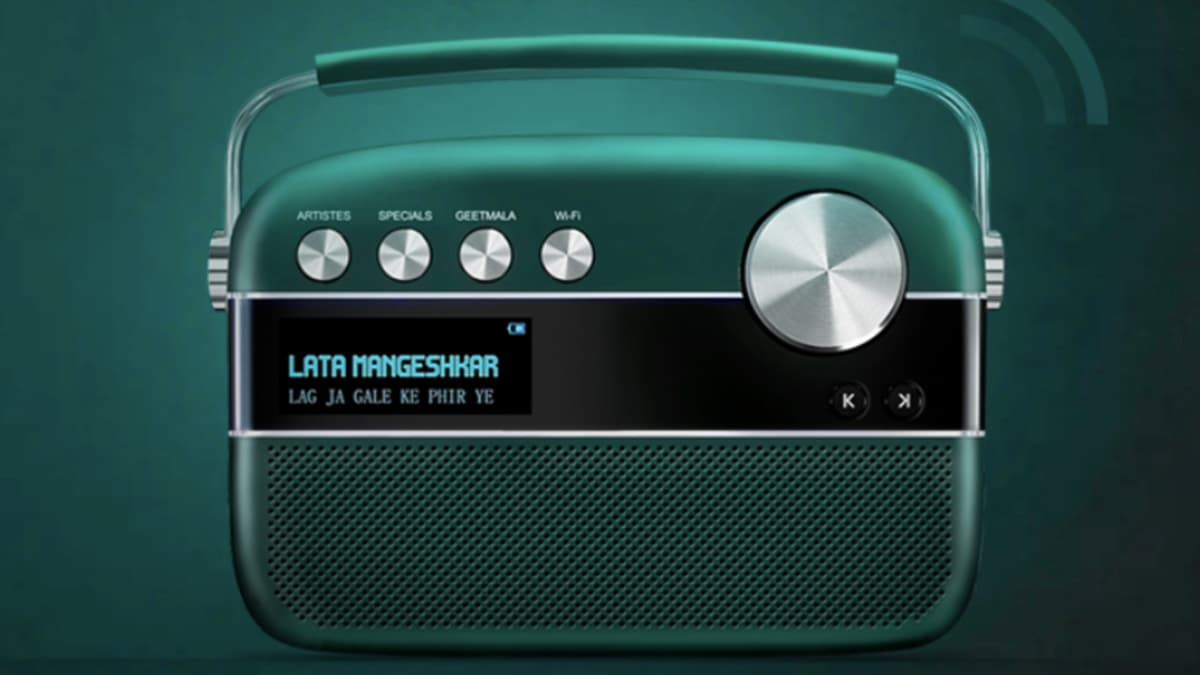 Saregama Carvaan 2 0 With 5,000 Preloaded Songs and Wi-Fi