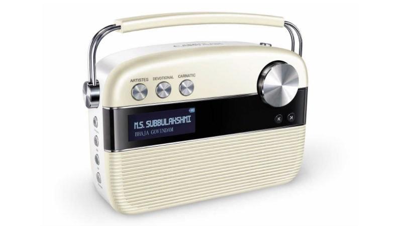 Saregama Carvaan Tamil, Carvaan Mini - M.S. Subbulakshmi Portable Bluetooth Speakers Launched