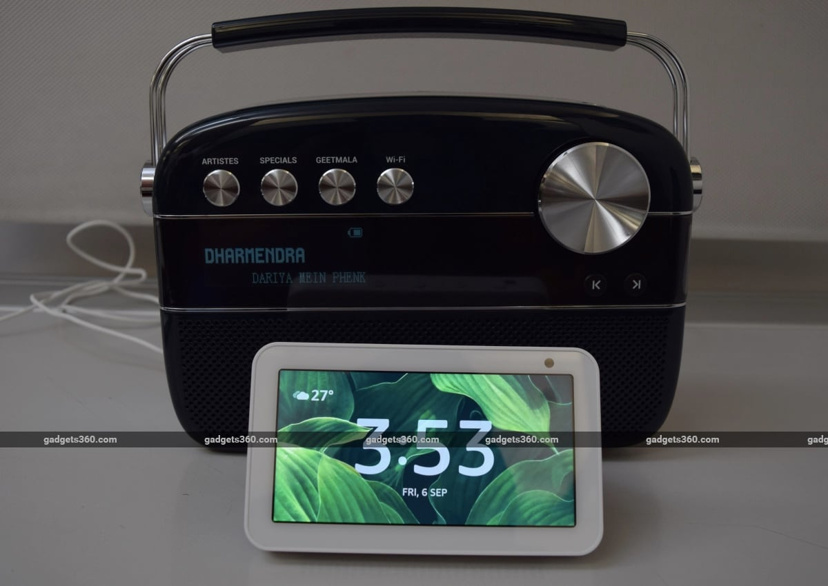What the Very Different Saregama Carvaan 2.0 and Amazon Echo Show 5 Have in Common