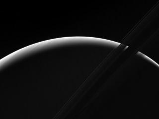 NASA's Cassini Probe Captures Dawn on Saturn in Stunning New Image