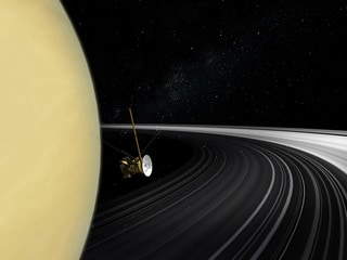 NASA's Cassini Probe Reveals New Details on Saturn's Rings: Study