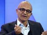 Microsoft CEO Satya Nadella Interacts With Hyderabad Employees on India Tour