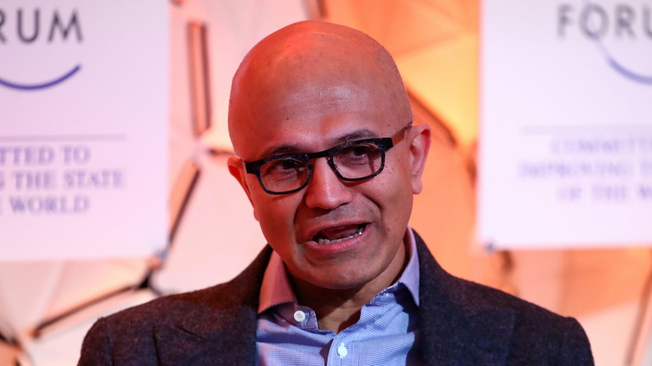 Microsoft Boss Satya Nadella Trumpets Cloud Tie-Up With Reliance