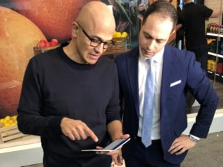Microsoft Surface Duo Spotted in the Hands of CEO Satya Nadella