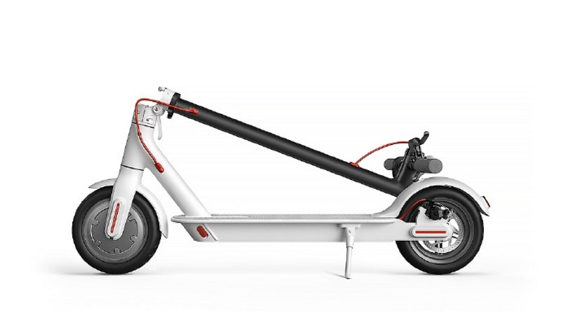Xiaomi Mi Electric Scooter Launched, Can Fold With the Press