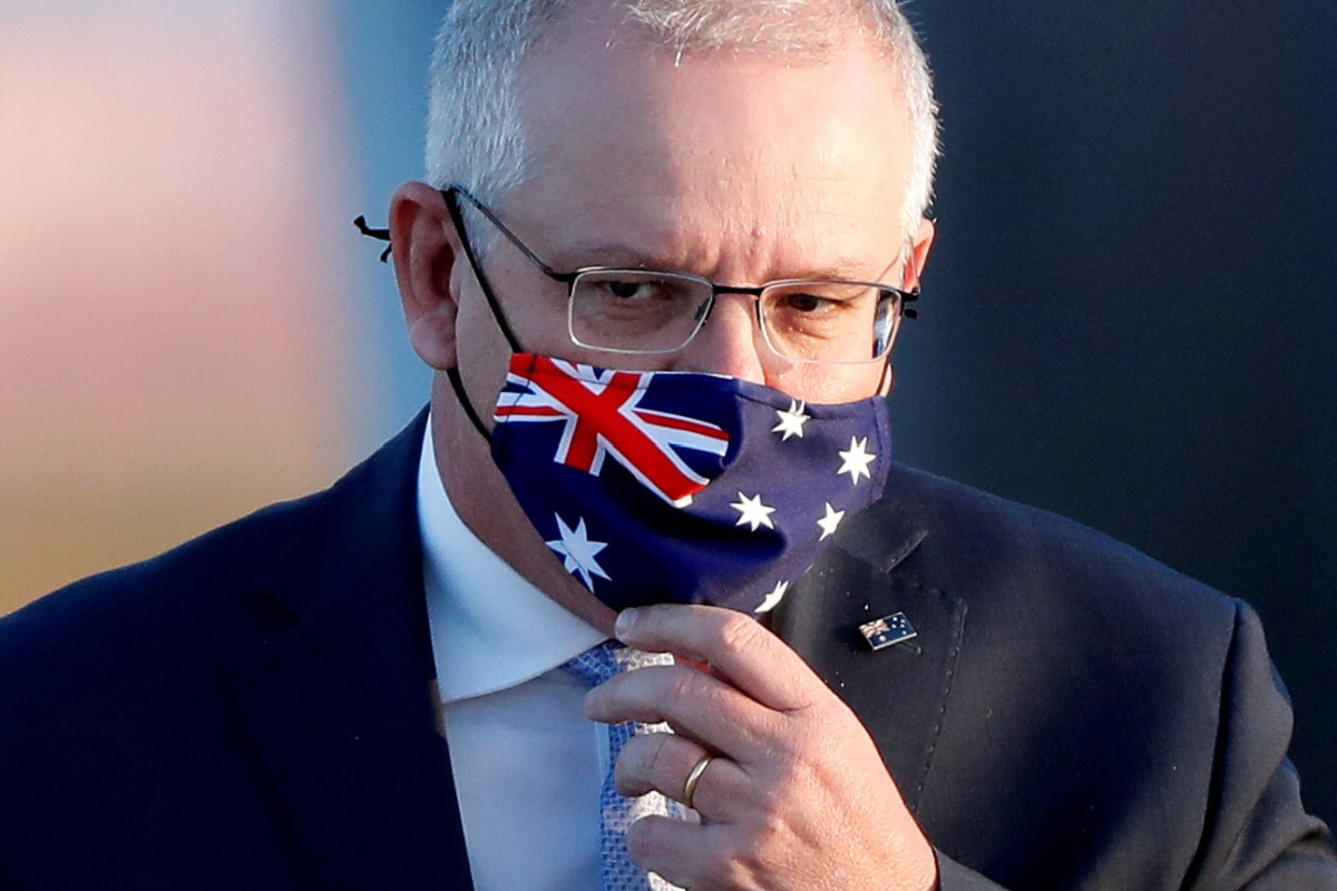 Chinese app WeChat censors Australian PM Scott Morrison's post