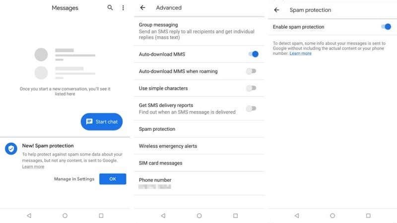 Google Brings Inbuilt Spam Protection to Messages App | Technology News