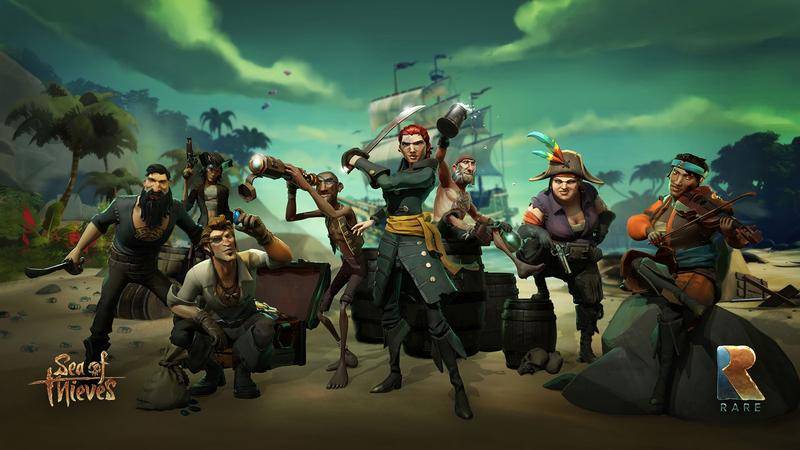 Sea of Thieves release date announced, Xbox One/Windows 10 pre-orders open