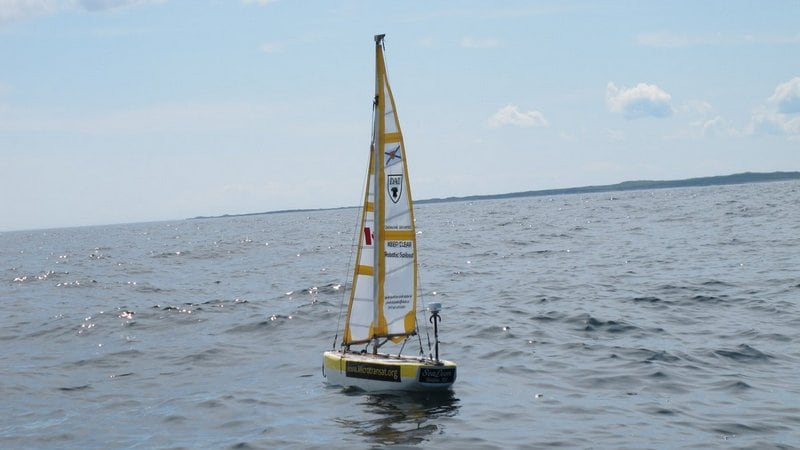Robot Boat Sails Into History by Finishing Atlantic Crossing
