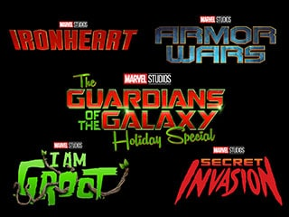 Secret Invasion, Ironheart, Armor Wars, I Am Groot Marvel Disney+ Series Announced