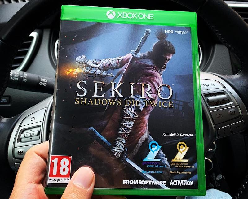 sekiro xbox one x limited edition console