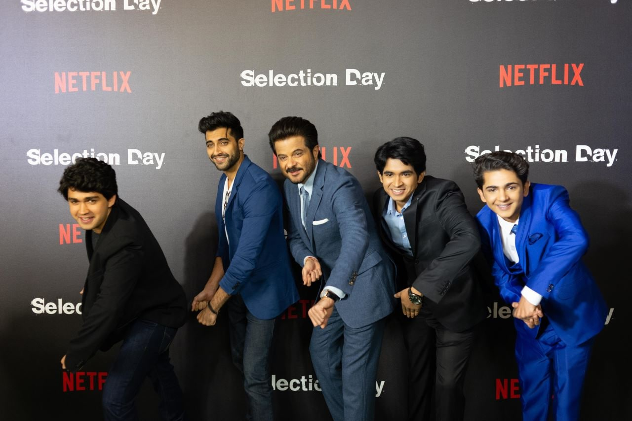 selection day cast anil kapoor Selection Day Netflix