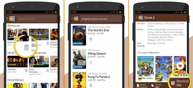 Sensy Is a Smart Remote App That Brings TV Guides to the