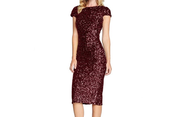 Best Sequin Dress in India - diandianshop Women's Dress Glitzy Sequin Flapper Party Dress