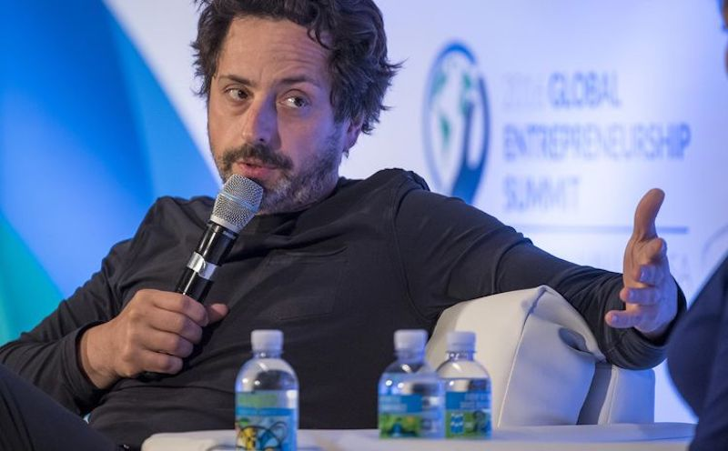 Google Co-Founder Sergey Brin Said to Be Secretly Building an