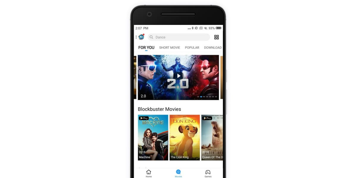 shareit customise content delivery google play SHAREit