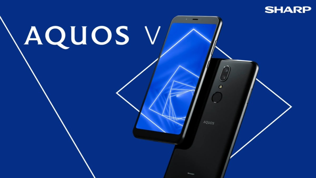 Sharp Aquos V With Snapdragon 835 SoC, Dual 13-Megapixel Rear Cameras Launched: Price, Specifications