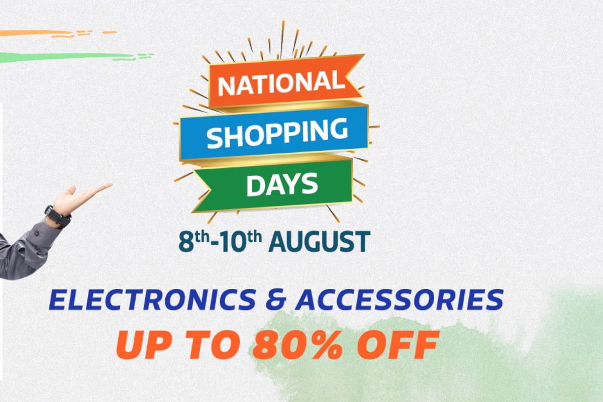 Flipkart National Shopping Days Sale Starts: Here Are the Best Offers