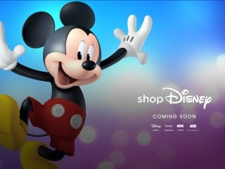 Disney's Online Store, ShopDisney, Is 'Coming Soon' to India