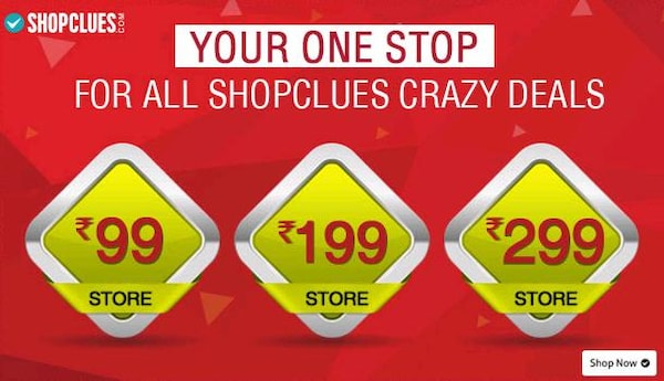 The Rs.99 Store - Buy anything for Rs.99-Rs.199 on Shopclues!