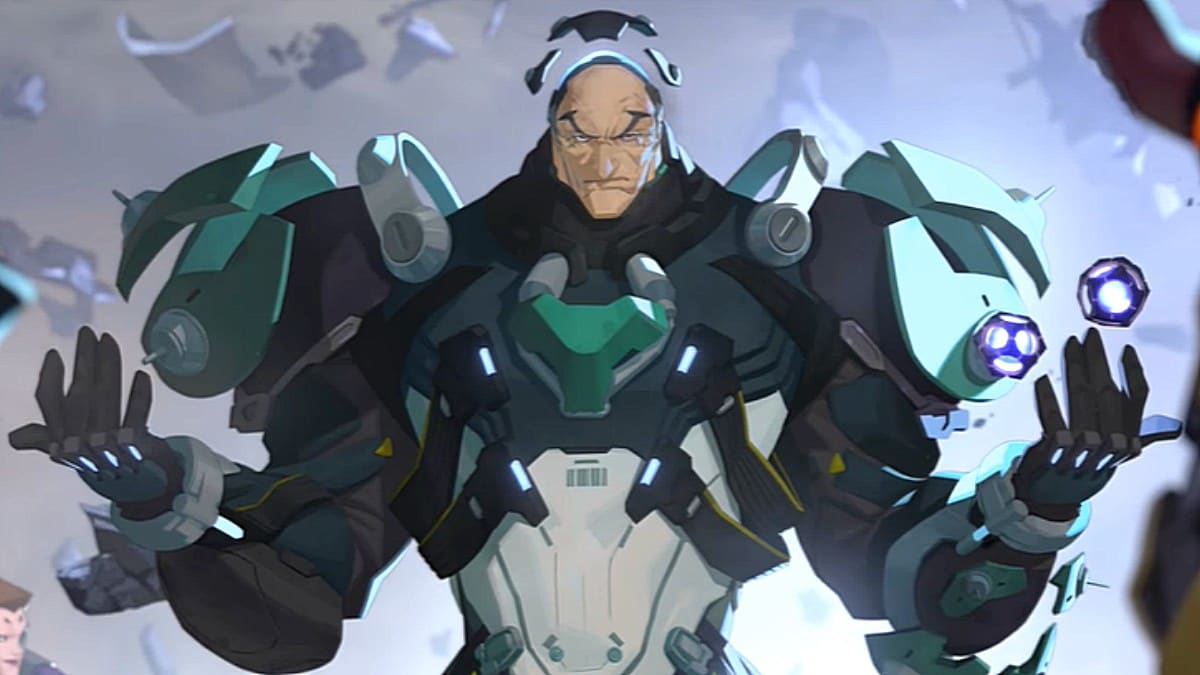 Overwatch new character, Sigma, brings his gravity manipulation to the PTR