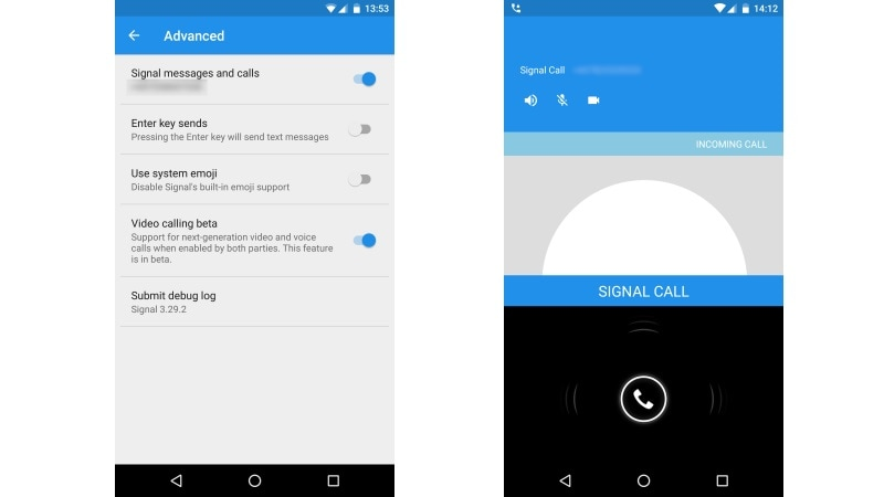 Signal Private Messenger App Is Testing Encrypted Video, Voice Calling