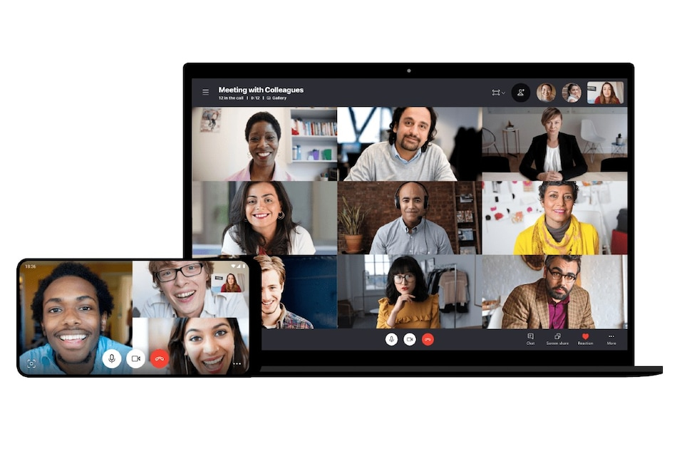 Skype for Windows, Mac, Linux Now Offers Predefined Backgrounds, Grid View for Up to 12 Participants