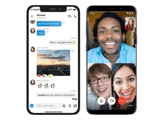 Skype for Android Updated With Background Blur, Improved Custom Reactions Picker