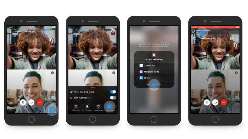 Skype Rolls Out Screen Share Feature to Android, iOS Insider Build Users