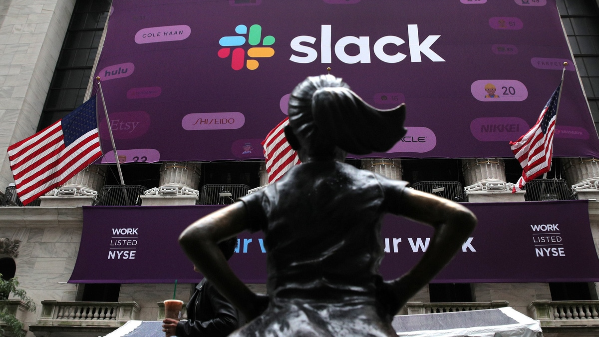 Slack Stock Rises in Wall Street Debut, Values Company at More Than $23 Billion